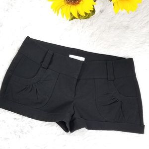 Black hot short for sexy summer size 7